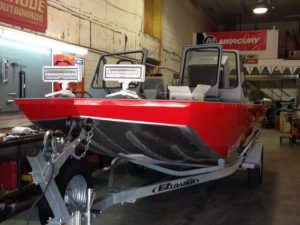 KCK Fire Department Rescue Boat serviced at US Boatworks