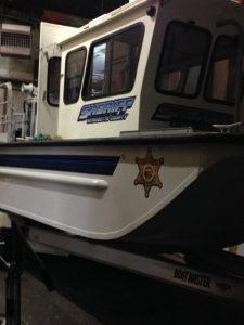 Wyandotte County Sheriff Department Boat