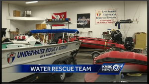 Lee's Summit Underwater Rescue and Recovery uses US Boatworks