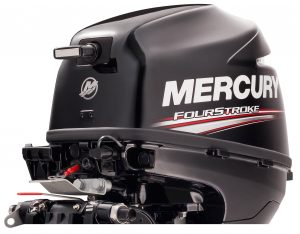 9.9 hp Mercury Outboard with Command Thrust