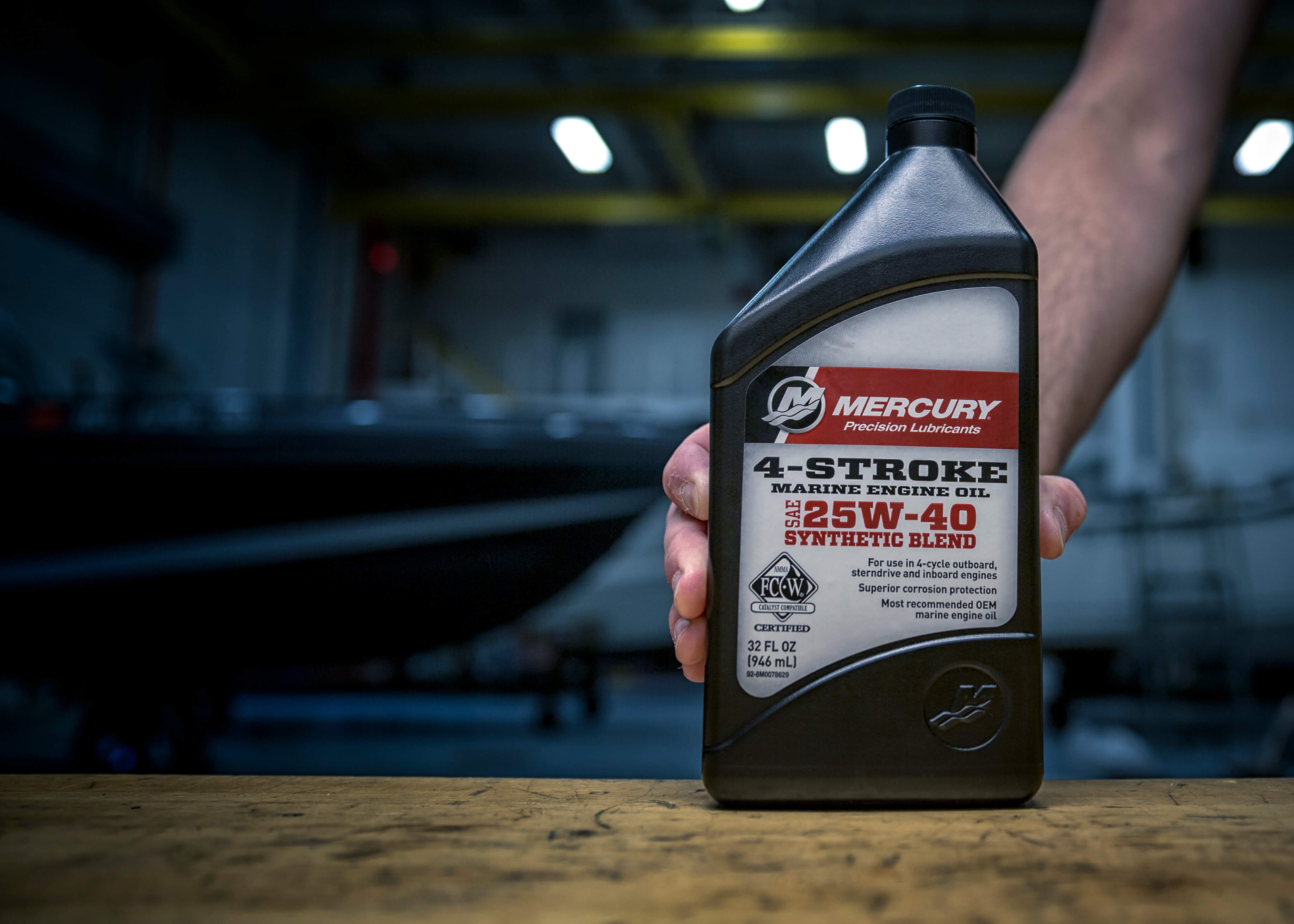 Mercury 4 Stroke Oil 25W-40