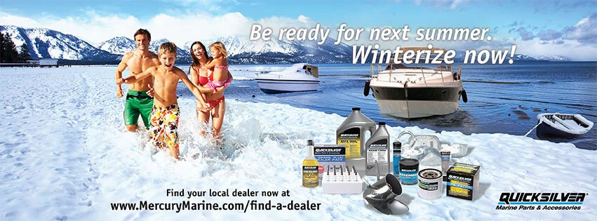 Winterize with Mercury and Quick Silver Products