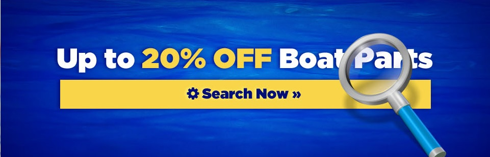 up to 20% off Boat Parts