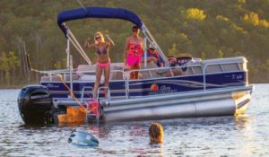 Mercury Outboard Pontoon
