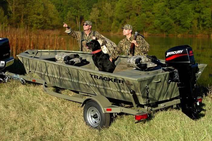 Duck Boat Mercury Outboard
