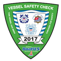 Vessel Safety Check Badge