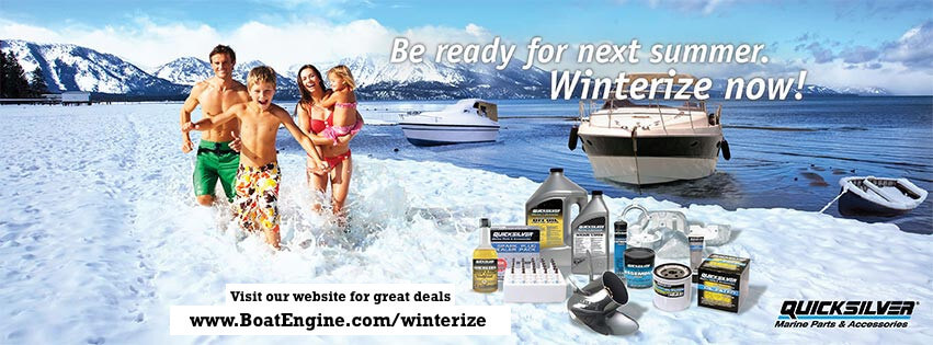 Winterize your boat motor now!