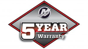 Mercury Mercruiser 5 Year Warranty Promotion Logo