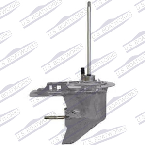 Mercury Remanufactured Lower Unit 1671 9760t25 by US Boatworks